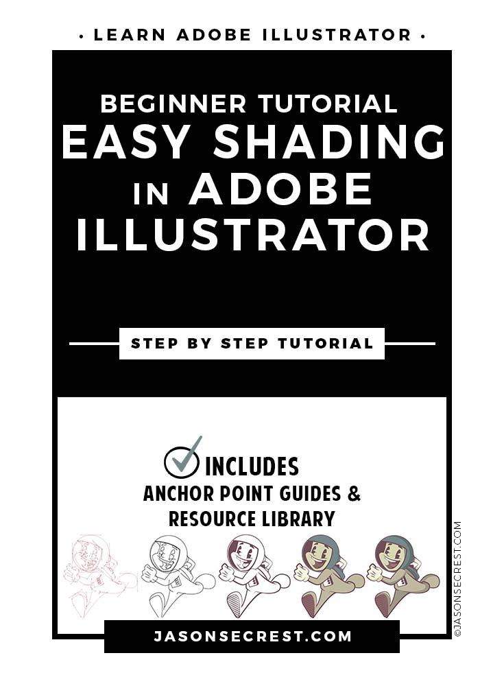 Adobe Illustrator Tutorial Easy Shading