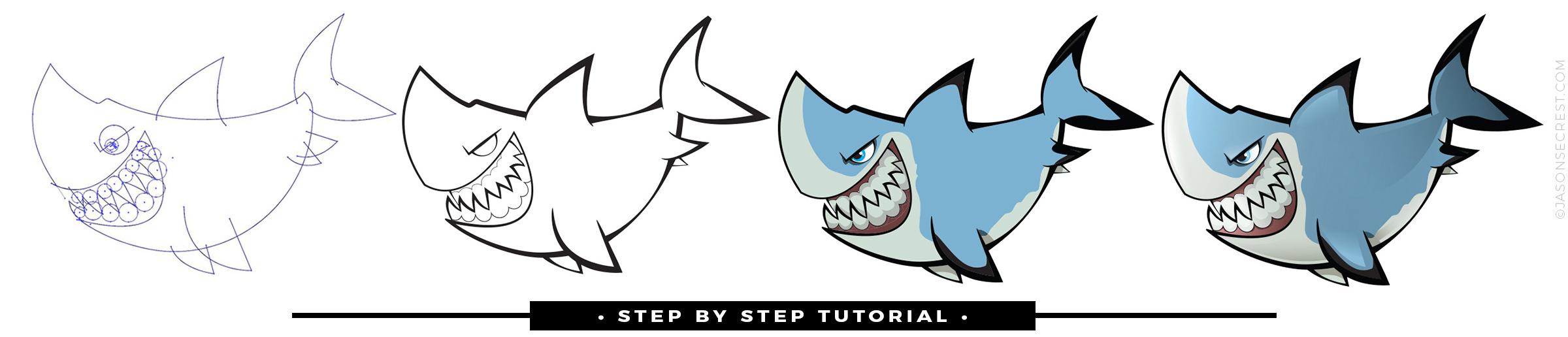 Advanced Adobe Illustrator Cartoon Coloring Tutorial - Jason Secrest